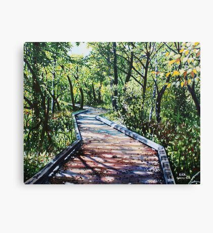 '4 MILE CREEK GREENWAY (CHARLOTTE, NC)' Canvas Print