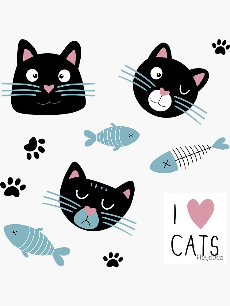 Cute cats by Heyduda