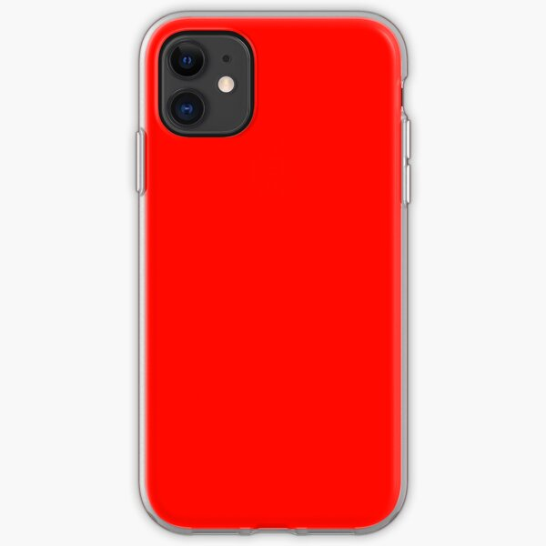 Candy Apple Red iPhone Soft Case