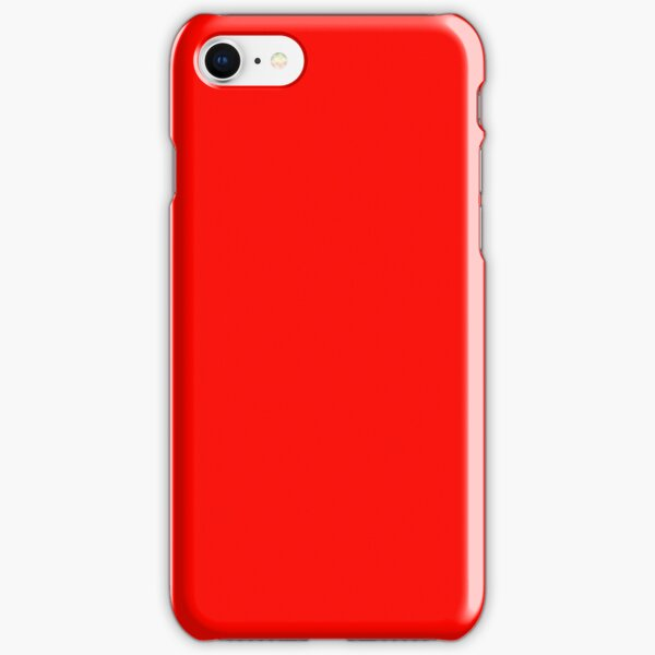 Candy Apple Red iPhone Snap Case