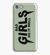 HIPSTER : BAD GIRLS DO IT WELL iPhone Case/Skin