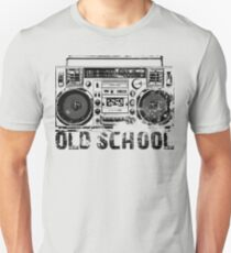 Old School Boombox Art T-Shirt