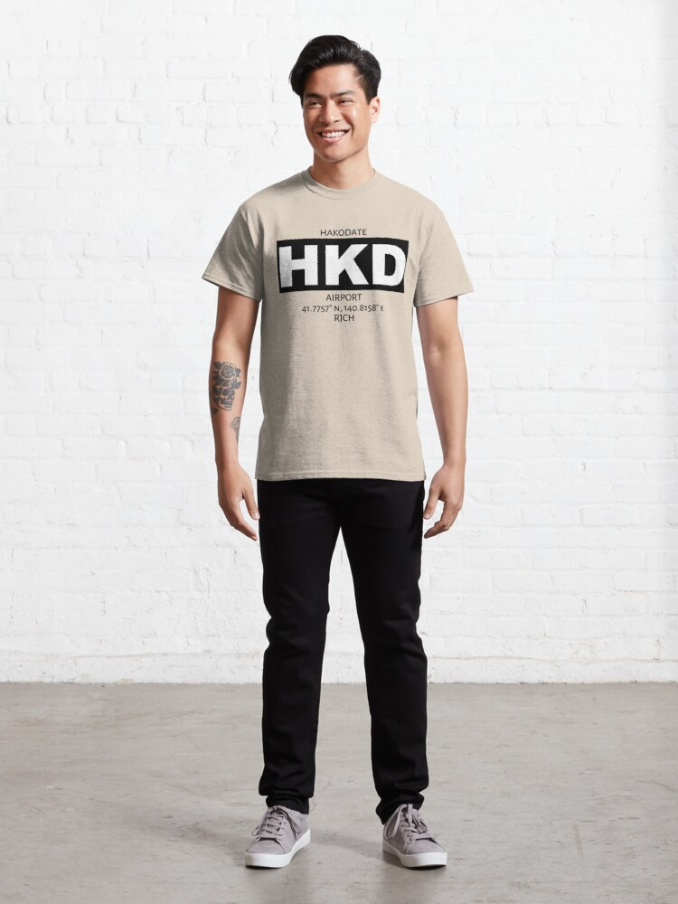 Alternate view of Hakodate Airport HKD Classic T-Shirt
