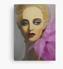 BEAUTIFUL AND ELEGANT LADY Canvas Print