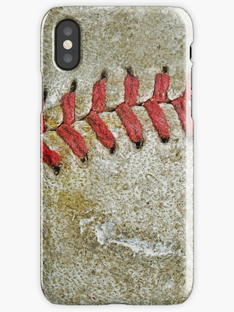 Baseball (iPhone case) by Maria Dryfhout