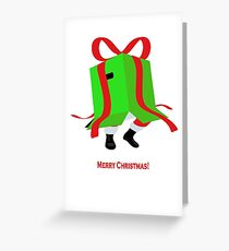 Metal Gear Santa Greeting Card