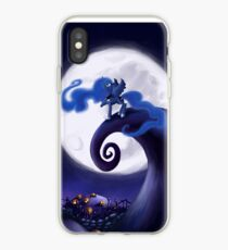 My Little Pony - MLP - Nightmare Before Christmas - Princess Luna's Lament iPhone Case