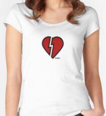 HRTBRKR Women's Fitted Scoop T-Shirt