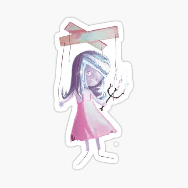 Marionnette Doll, Version 2 Sticker