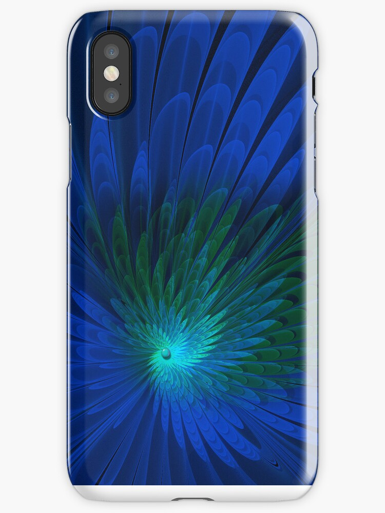 Peacock Iphone Case by Elaine Manley