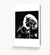 Ian Anderson JethroTull Greeting Card