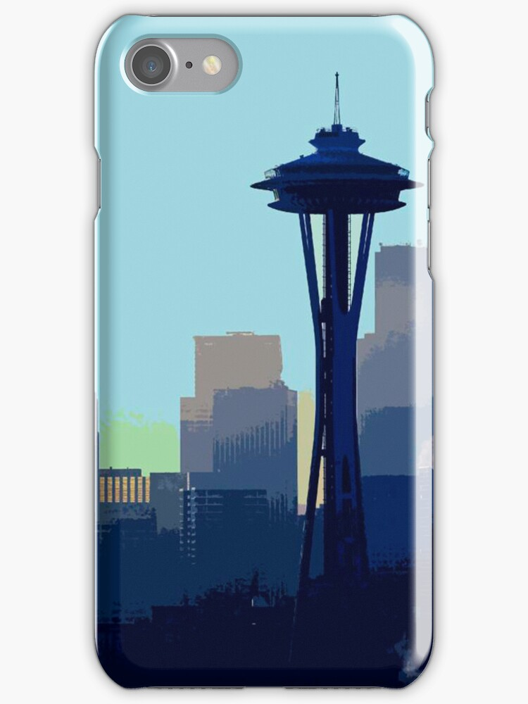 Downtown iPhone case.  by Todd Rollins