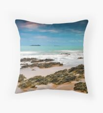 Emerald Dawn Throw Pillow