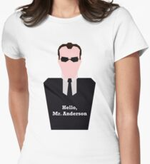 Agent Smith Women's Fitted T-Shirt