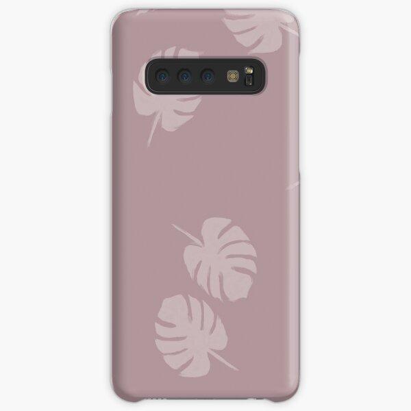 Feuilles - Minimalist Coque rigide Samsung Galaxy