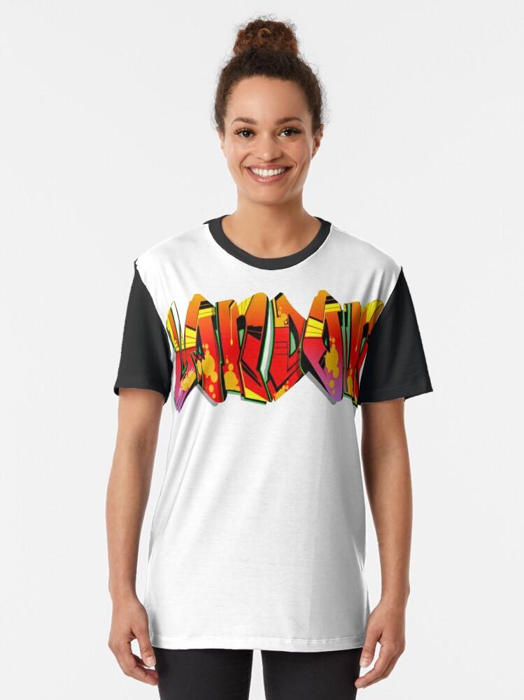 Alternate view of London Graff Graphic T-Shirt
