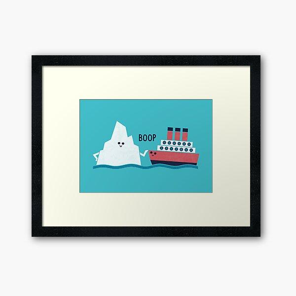 Boop Framed Art Print