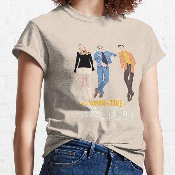Quentin Tarantino Il était une fois à Hollywood Minimal T-shirt classique