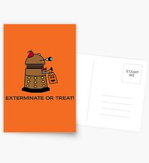 Exterminate or Treat - Full Color Postcards
