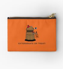 Exterminate or Treat - Full Color Studio Pouch