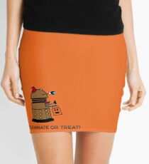 Exterminate or Treat - Full Color Mini Skirt