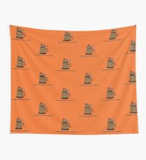 Exterminate or Treat - Full Color Wall Tapestry