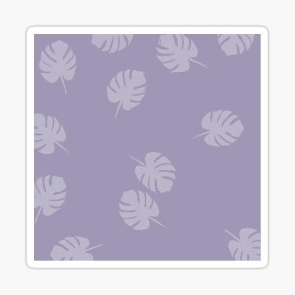 Feuilles - Minimalist Sticker