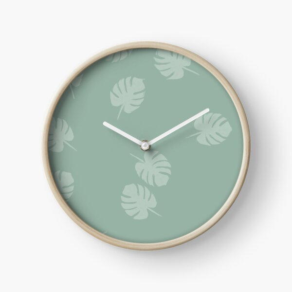 Feuilles - Minimalist Horloge