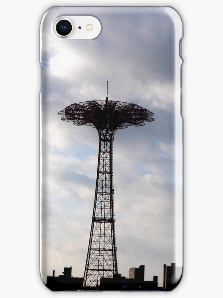 Parachute Jump iPod case by andytechie