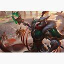 Warring Kingdoms Azir Splash Art League Of Legends Laptop Skin By Challengerb Redbubble