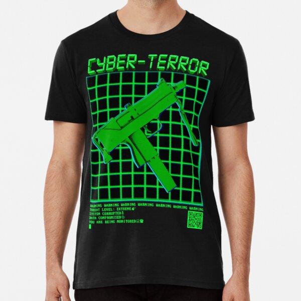 CYBER-TERR0R Premium T-Shirt