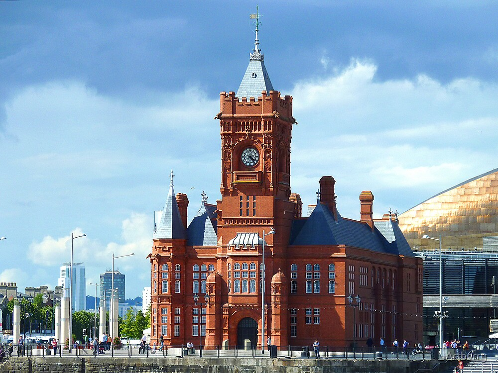 Quot Pierhead Building Cardiff Wales Uk Quot By Artberry