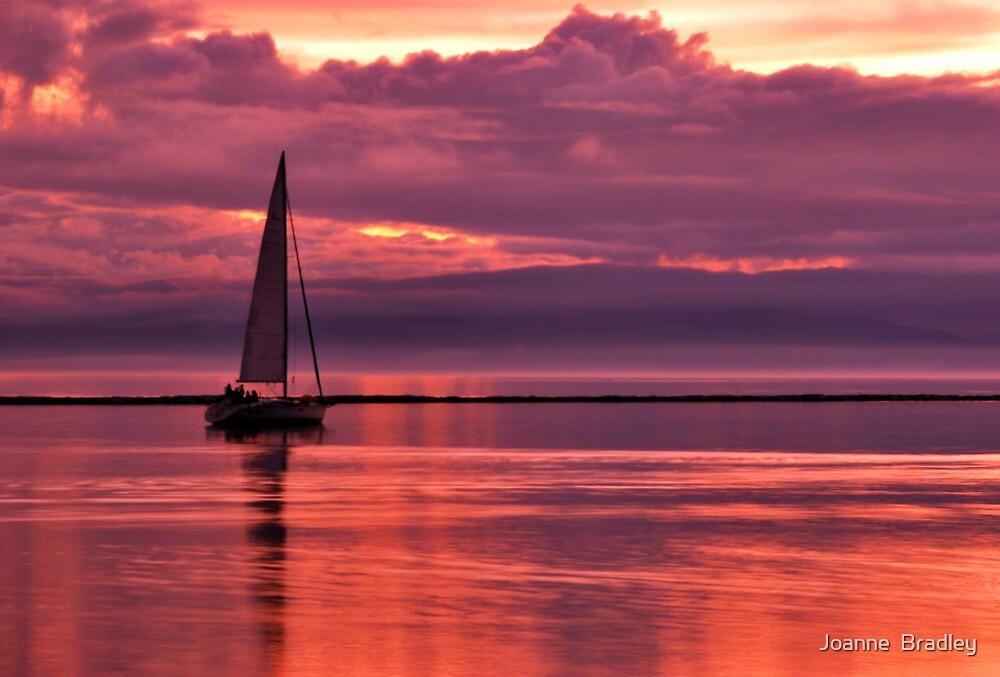 Sunset Cruise by Joanne  Bradley
