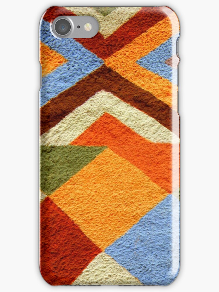 Colorful Pattern iPhone Case by artisandelimage