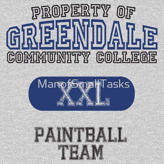 TShirtGifter presents: Greendale paintball team