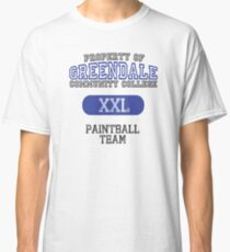 Greendale paintball team Classic T-Shirt
