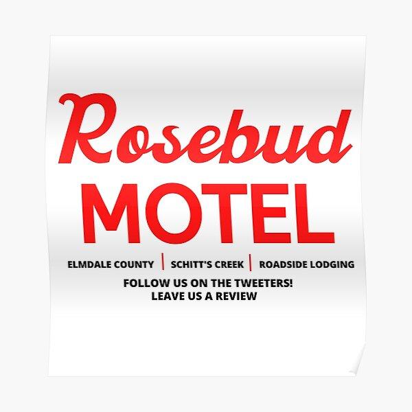 Schitt's Creek Rosebud Motel Logo Poster