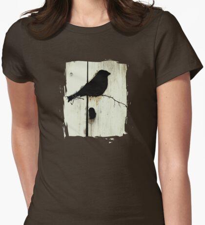 Early Bird  - JUSTART ©  Womens Fitted T-Shirt