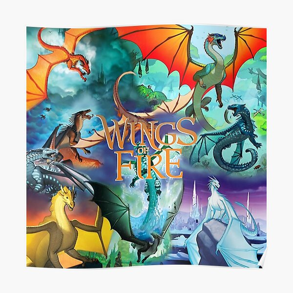 Wings of fire all dragon Series Poster