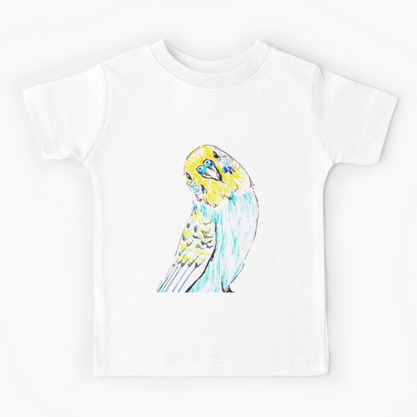 Budgie in Love Kids T-Shirt