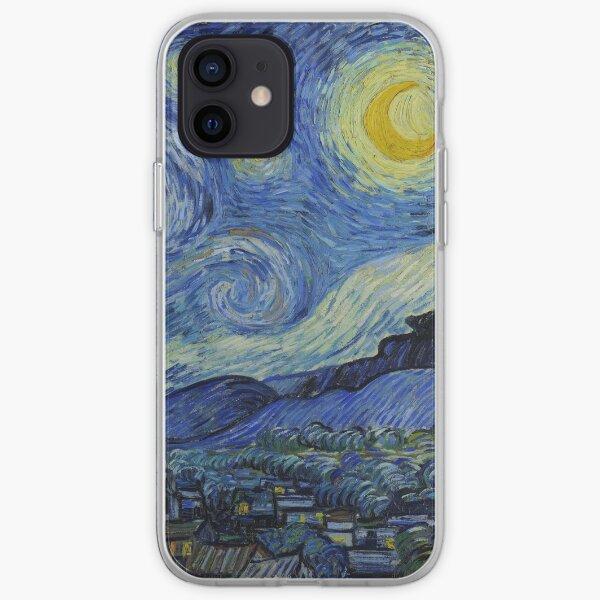 Nuit étoilée Coque souple iPhone