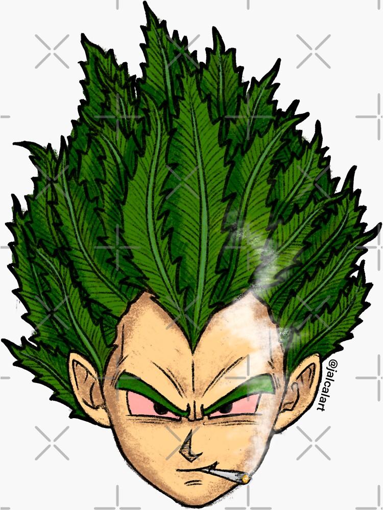 Weedheadz Vegeta by Jalcalart