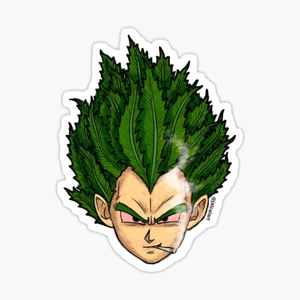 Weedheadz Vegeta Sticker
