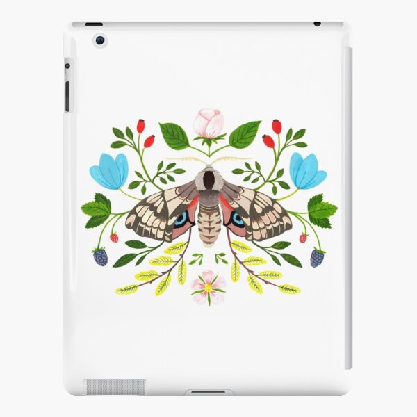 Moth with Berries and Rosehip iPad Snap Case