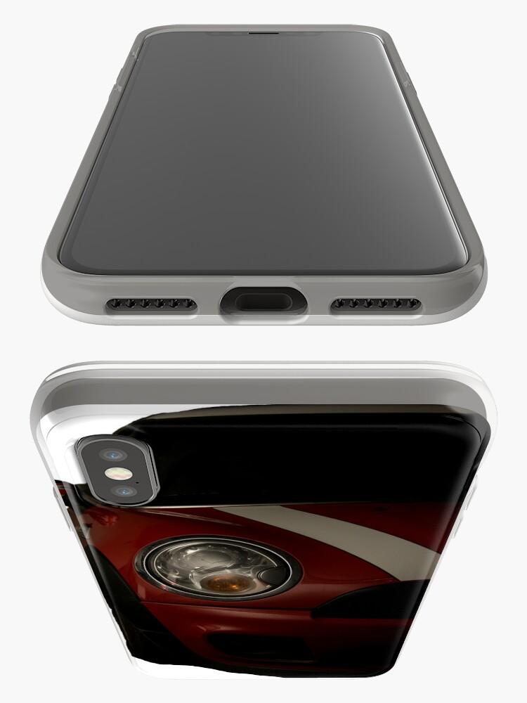 Alternate view of Mini Cooper S iPhone Case & Cover