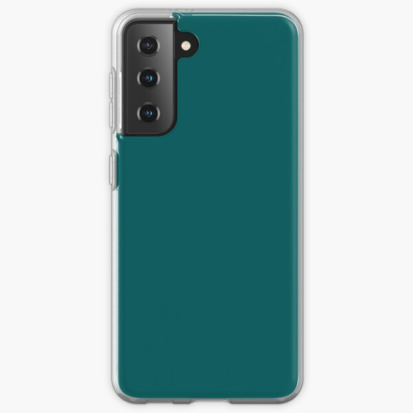Deep Teal Accent Color Decor - Lowest Price On Site Samsung Galaxy Soft Case