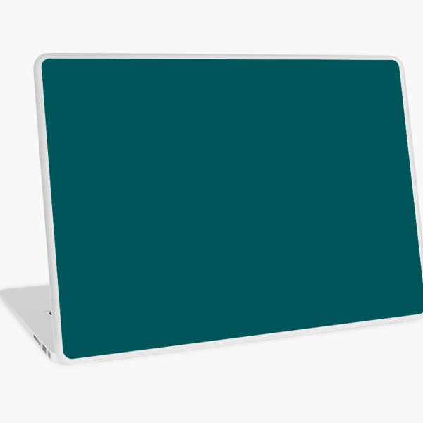 Deep Teal Accent Color Decor - Lowest Price On Site Laptop Skin