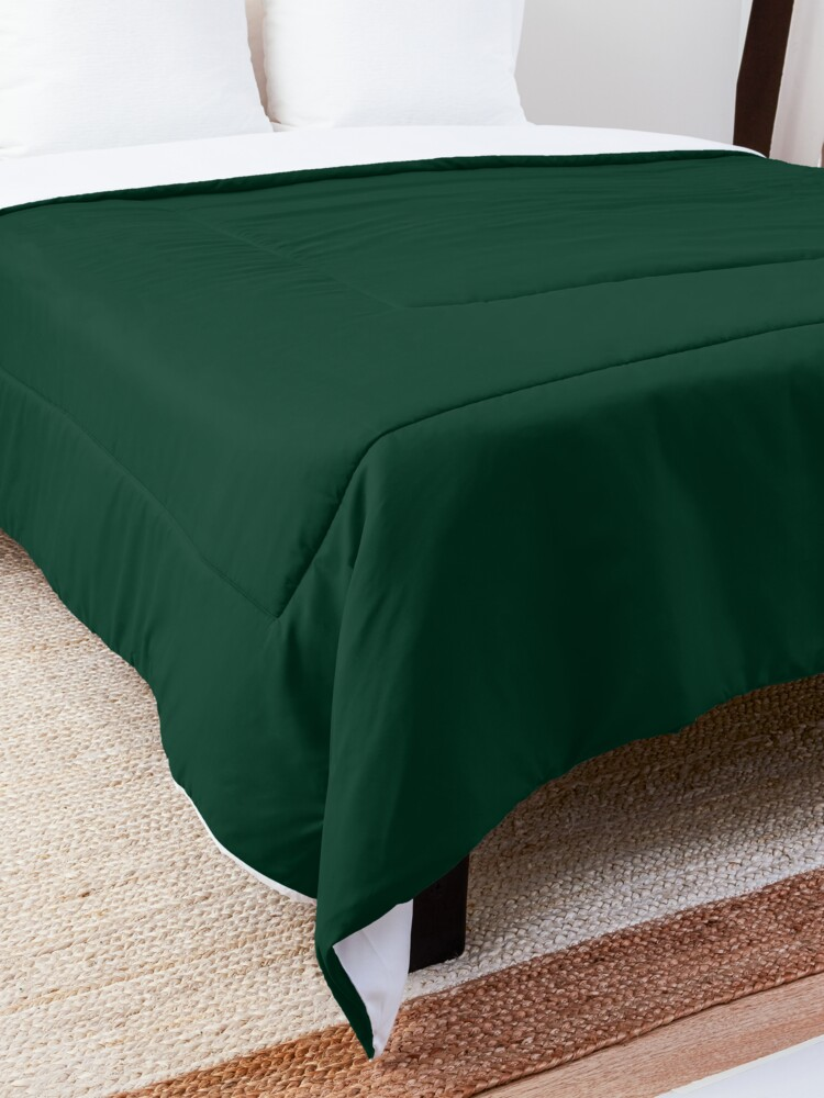 Alternate view of Ultra Deep Emerald Green - Lowest Price On Site Comforter