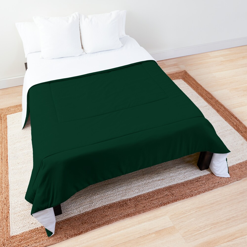Ultra Deep Emerald Green - Lowest Price On Site Comforter