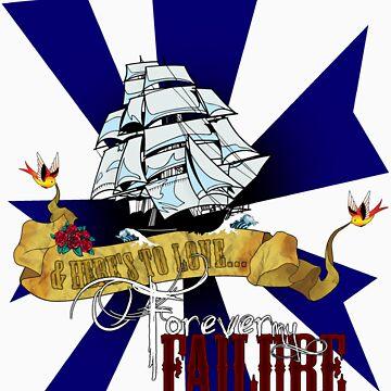 Forever My Failure t-shirt v2 by empireofdirt